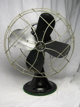 Antique Hunter Century Type 16 Oscillating Fan Restored Kitchen & Home Collectibles