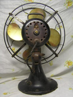 shown here is an emerson 26646, which was made from 1919 to 1922  this is  the non-oscillating companion fan to the emerson 27-series fans made during  the